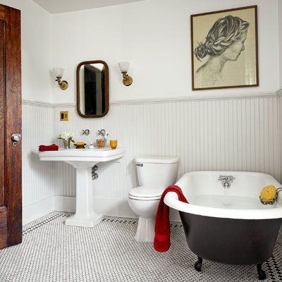 reader budget remodel vintage bath after