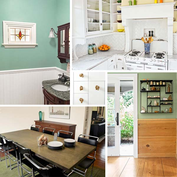 five examples of Low-Cost Custom Details from Design Pros' Own Homes from this old house