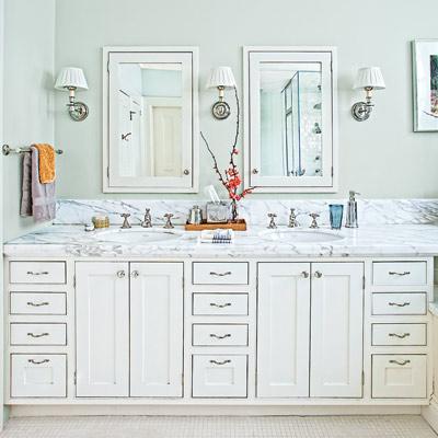 double bath vanity