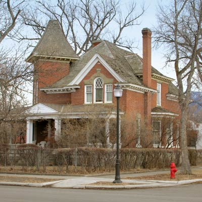 Livingston, Montana, this old house best neighborhood 2012