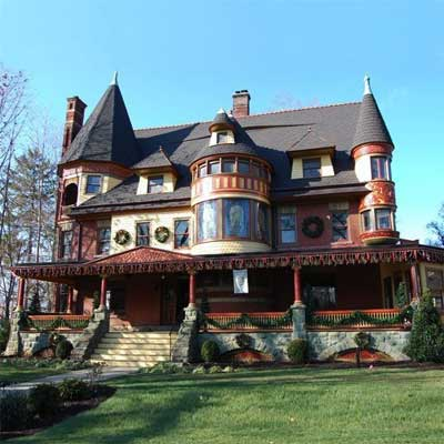 Van Wyck Brooks Historic District, Plainfield, New Jersey, this old house best neighborhood 2012