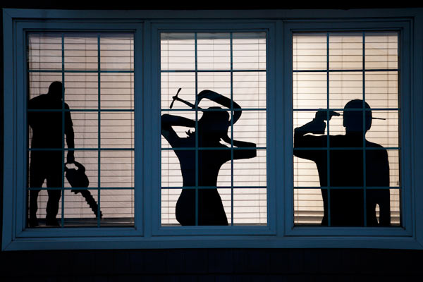 Window Silhouettes 15 Easy Halloween Decorating How Tos