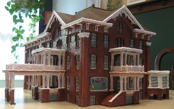 Hotel Harrington 2010 gingerbread house contest finalist