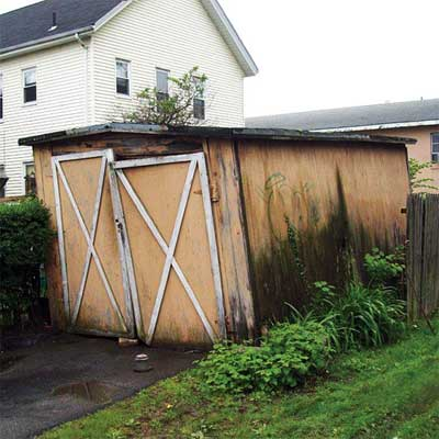 shed falling over from home inspection nightmares gallery twenty-seven