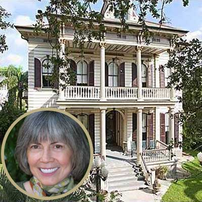 Anne Rice Stately Celebrity Homes For Sale Iii This