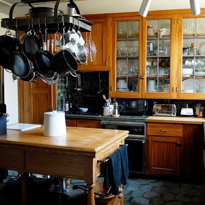 before of Tudor Revival kitchen remodel