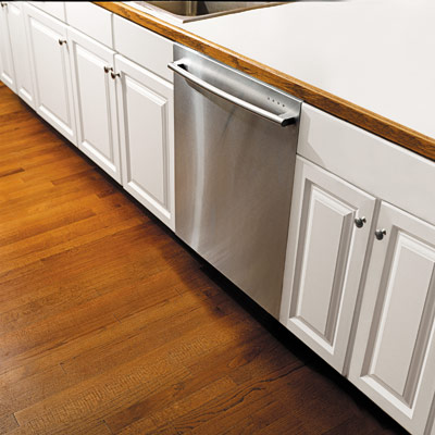 kitchen cabinets with dishwasher