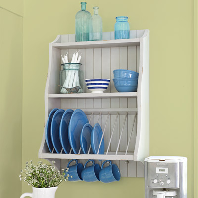 plate rack, kitchen upgrades