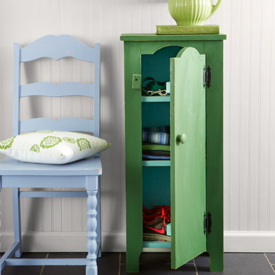 green painted jelly cupboard, kitchen upgrades