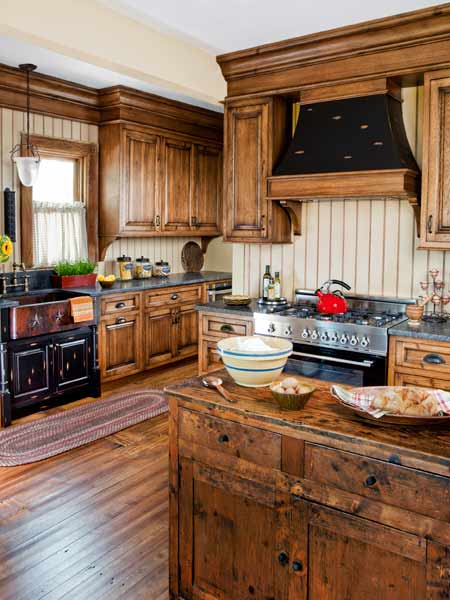 After: Aged-Well Look | A Kitchen With Period Flair, Plus a Layout ...