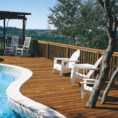 Make the Deck New Again to Turn Your Home Into a Staycation Resort