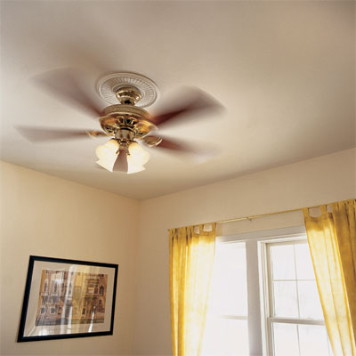 Install a Ceiling Fan to Turn Your Home Into a Staycation Resort