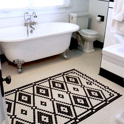 Winner: Hand-Laid Tile: After from Best Bath Before and Afters 2012