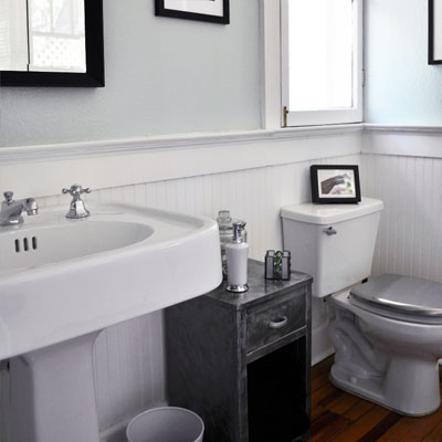 New Bathroom Fits 1930s Home: After from Best Bath Before and Afters 2012