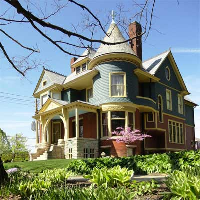 Winner Colorful Queen Anne Restoration After Best Curb