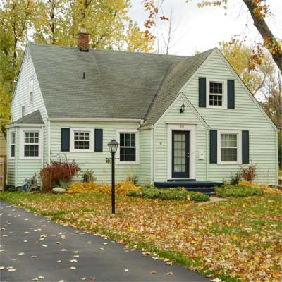 Glowing Compliments From Others: Before from this old house curb appeal finalists 2012