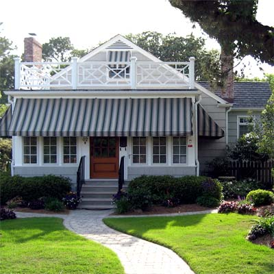 Saved a 1940 Beach Cottage: After from this old house curb appeal finalists 2012