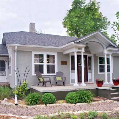 1930s Stucco Home Transformed: After from this old house curb appeal finalists 2012