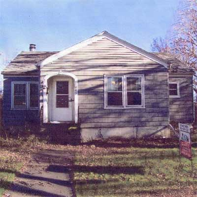 Resuscitated With Fresh Paint: Before from this old house curb appeal finalists 2012