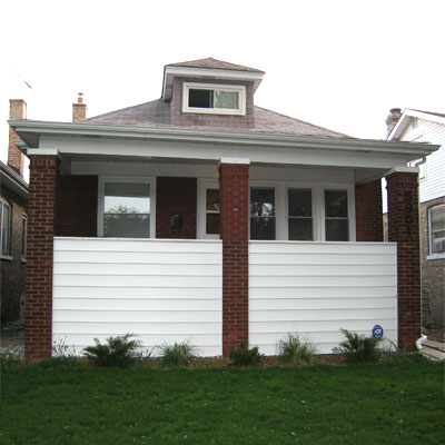 Restoring the Architectural Style: Before from this old house curb appeal finalists 2012