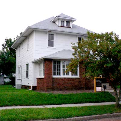 Crisp and Classic Styling: Before from this old house curb appeal finalists 2012