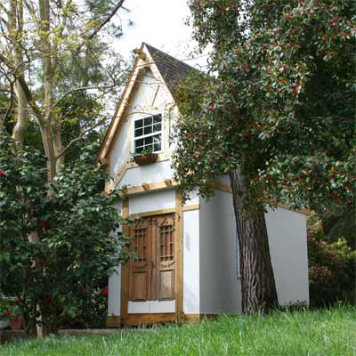 Winner German-Inspired Playhouse After in this old house reader remodel Best Sheds and Outbuilding Before and Afters 2012