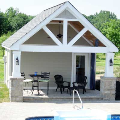 bespoke pool house after best shed and outbuilding