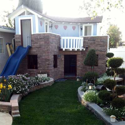 Dream Playhouse for a Birthday: After in this old house reader remodel Best Sheds and Outbuilding Before and Afters 2012