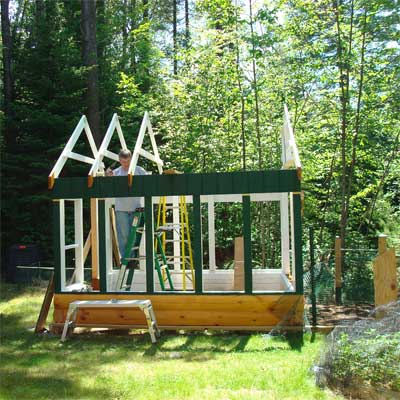 Greenhouse Inspires Small Farm: Before in this old house reader remodel Best Sheds and Outbuilding Before and Afters 2012