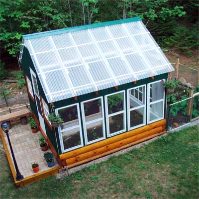 Greenhouse Inspires Small Farm: After in this old house reader remodel Best Sheds and Outbuilding Before and Afters 2012