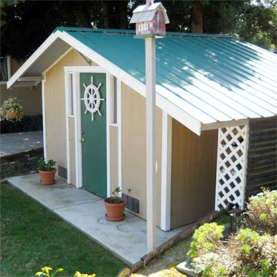 Fun to Design and Build: After  in this old house reader remodel Best Sheds and Outbuilding Before and Afters 2012