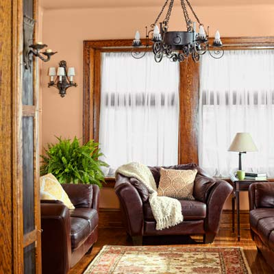 living room of the this old house reader remodel grand prize winning house
