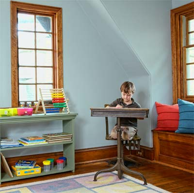 attic classroom of the this old house reader remodel grand prize winning house