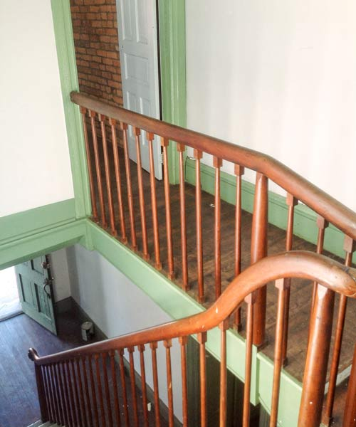 Save This Old House West Newton, Pennsylvania main staircase