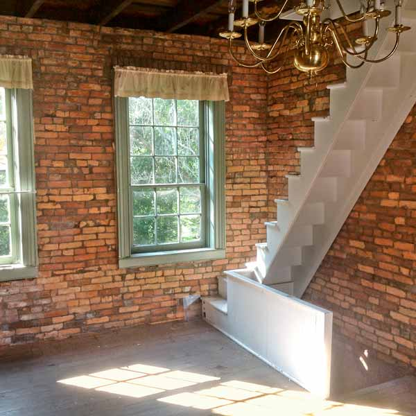Save This Old House West Newton, Pennsylvania back staircase