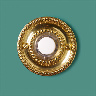 Golden Traditional style doorbell