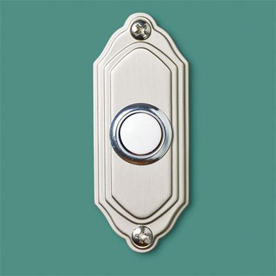 Contoured  style doorbell