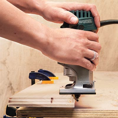 Router and Climb Cutting
