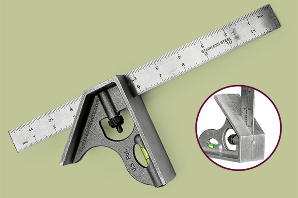 LaGesse LaSquare LAS-12S  combination square as part of a this old house tool test