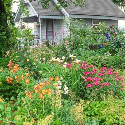 Cottage Garden Plans On Essential Elements For Planning A Cottage Garden  This Old House