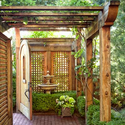 Landscape Ideas For Small Rectangular Backyard