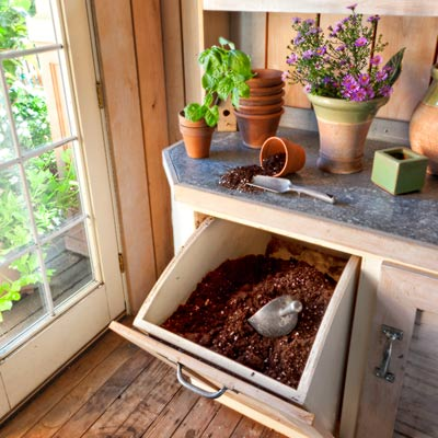 Potting Shed Interior Ideas DIY PDF Plans Download Potting Shed
