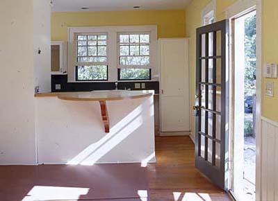 Austin House Project - Kitchen Island