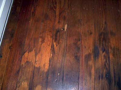 Austin House Project - Wood floors