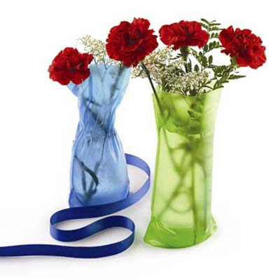 Collapsible vases from Lee Valley