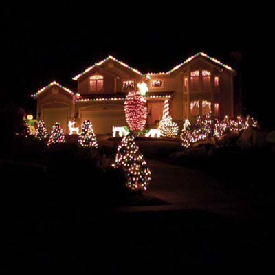 Holiday Contest Best Use of Lights Finalist