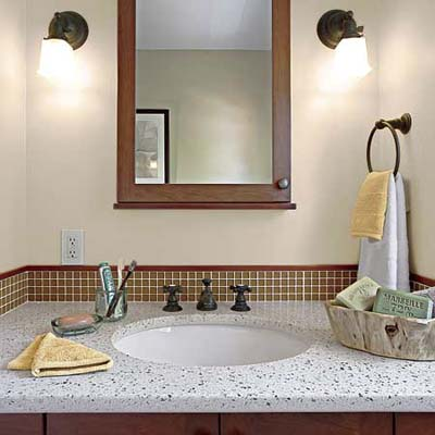 eco-friendly bath vanity