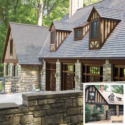 Exterior From Carriage House to Cozy Home