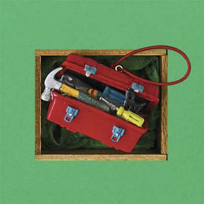 Tool Filled Toolbox christmas tree ornament