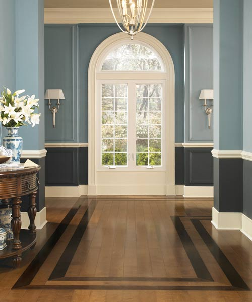 double border pattern wood floor installation, all about prefinished wood foors